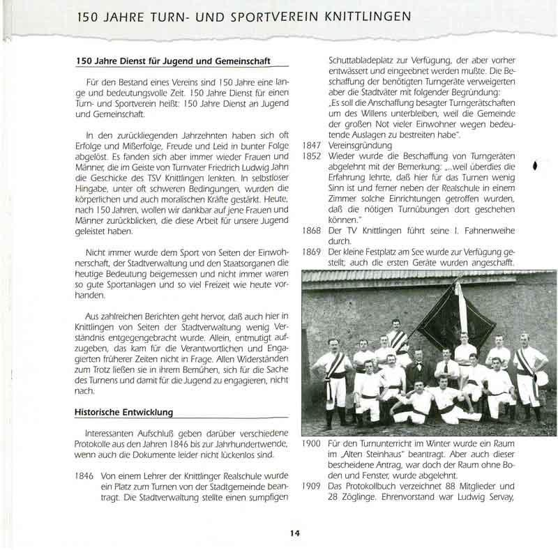 Chronik TSV Knittlingen 2