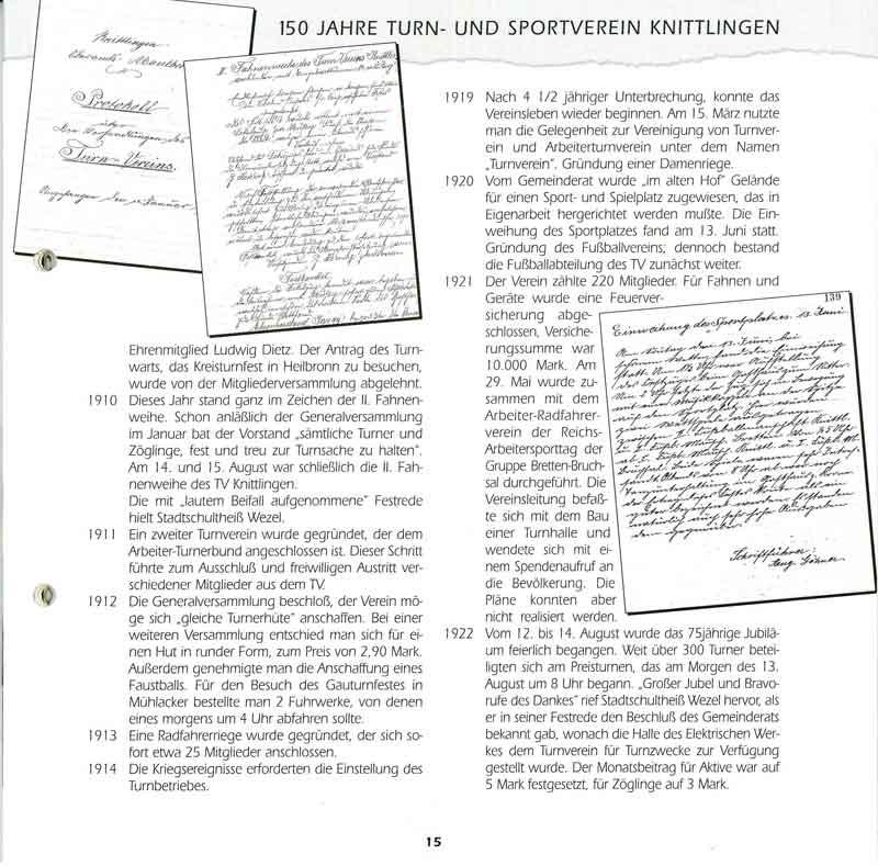 Chronik TSV Knittlingen 3