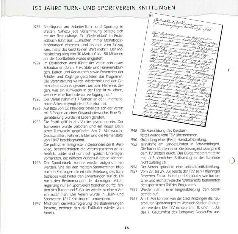 Chronik TSV Knittlingen 4
